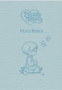 ICB Precious Moments Holy Bible Blue (Black Letter Edition)