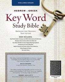 KJV Hebrew-Greek Key Word Study Bible Black (New Edition)