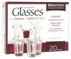 Glass Communion Cups (Box Of 20)
