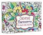 Adult Boxed Coloring Cards: Creative Expressions To Calm and Inspire