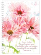 Softcover Journal: Flowers, Forever O Lord, Psalm 119:89-90