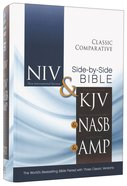 Niv/Kjv/Nasb/Amp Classic Comparative Side-By-Side Bible