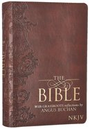 NKJV Bible With Grassroots Reflections By Angus Buchan Burgundy Luxleather