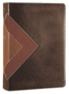 NLT Illustrated Study Bible Brown Tan Tutone