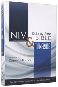NIV Message Side-By-Side Bible