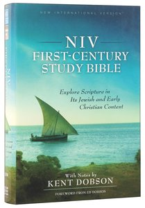NIV First-Century Study Bible (Black Letter Edition)