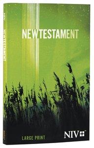 NIV Outreach Larger Print New Testament Green