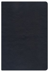 NKJV Large Print Personal Size Reference Bible Black Indexed