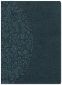 NKJV Large Print Holman Study Bible Dark Teal Indexed