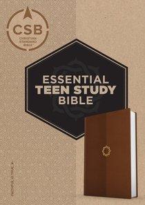 CSB Essential Teen Study Bible Walnut