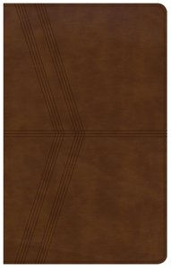 NKJV Ultrathin Reference Bible Brown Deluxe