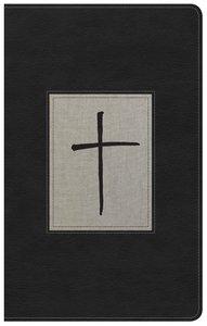 NKJV Ultrathin Reference Bible Black/Gray Deluxe