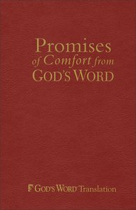 Promises of Comfort From Gods Word