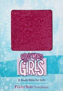 Gods Word For Girls Raspberry Swirl Duravella