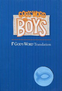 Gods Word For Boys Blue/Light Blue Duravella