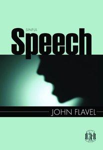 Sinful Speech (Pocket Puritans Series)