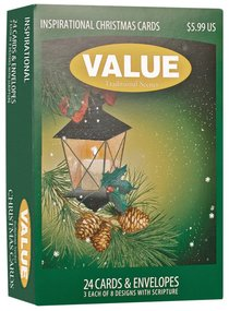 Christmas Value Boxed Cards B: Traditional Scenes With Scripture