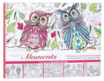 Inspiring Moments - Coloring & Craft (Adult Coloring Books Series)