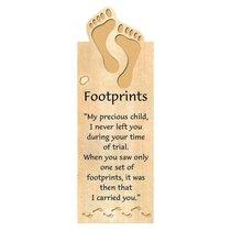 Magnetic Bookmark: Footprints