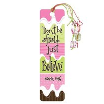 Bookmark With Beaded Tassel: Dont Be Afraid (Mark 5:36)