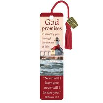 Bookmark With Tassel and Charm: God Promises