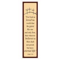 Bookmark Pack: For God So Loved (Pack 10)