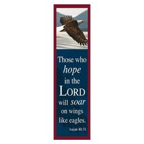 Bookmark Pack: Those Who Hope in the Lord, Will Soar on Wings Like Eagles (Pack 10)