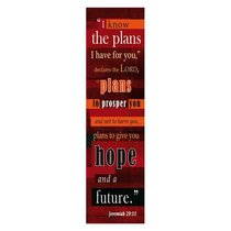 Bookmark Pack: For I Know the Plans I Have For You (Pack 10)