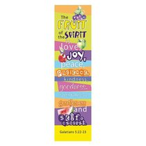 Bookmark Pack: The Fruit of the Spirit (Pack Of 10)
