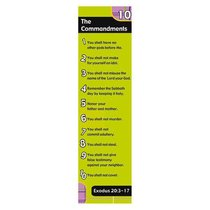 Bookmark Pack: The 10 Commandments (Pack Of 10)