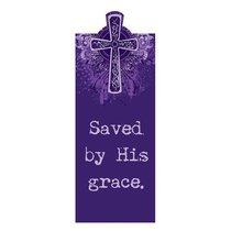 Magnetic Bookmark: Saved By His Grace
