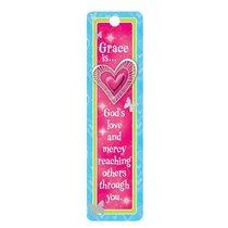 Bookmark Beaded: Grace Is..... (Little Miss Grace)