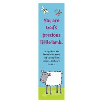 Bookmark Pack: You Are Gods Precious Little Lamb (Pack Of 10)
