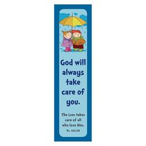 Bookmark Pack: God Will Always Take Care of You (Pack Of 10)