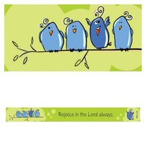 Magnet Strip: Rejoice in the Lord Always (Phil 4:4)