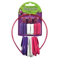 Hair Accessories: Laedee Bugg Pink, White & Purple Bobbles & Bits