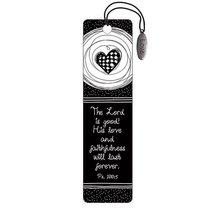 Bookmark: Love Charm Black and White