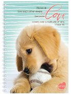 Softcover Journal: Puppy, Above All, Love Each Other Deeply, 1 Peter 4:8