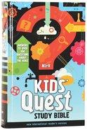 NIRV Kids Quest Study Bible (Black Letter Edition)
