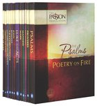 TPT Passion Translation: Encounter the Heart of God (Black Letter Edition) (12-pack)