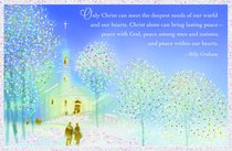 Christmas Premium Boxed Cards: Only Christ Meets Our Needs - Billy Graham (Isaiah 9:6 Kjv)