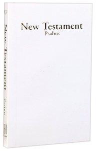 KJV Economy New Testament With Psalms White (Red Letter Edition)