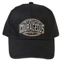 Baseball Cap: Strong & Courageous