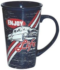 Ceramic Mug: Enjoy Life Might Mug