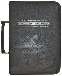 Bible Cover Ride in Triumph Xlarge