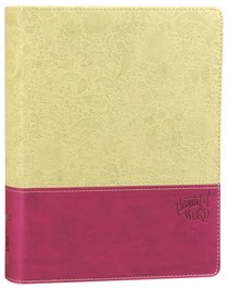 KJV Beautiful Word Bible Berry (Red Letter Edition)