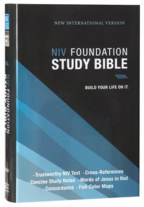 NIV Foundation Study Bible (Red Letter Edition)