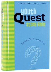 NIV Quest Study Youth Bible Ages 11-14