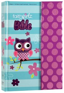 NIV Faithgirlz! Bible Owl With Magnetic Flap (Black Letter Edition)