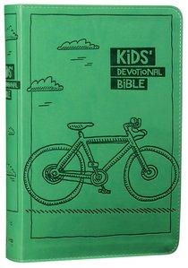 NIRV Kids Devotional Bible Green Bicycle
